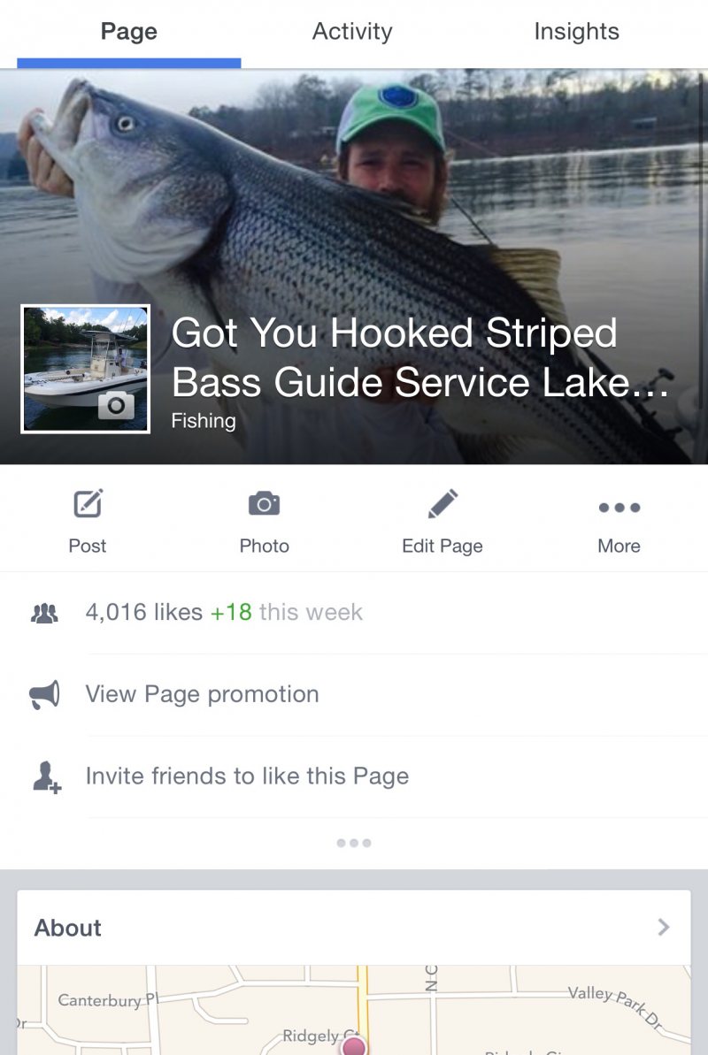 Got You Hooked Striped Bass Guide Service - Facebook Link
